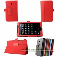 Folio Folding Book Leather Tablet Case Cover Stand for Asus Fonepad 7 FE170