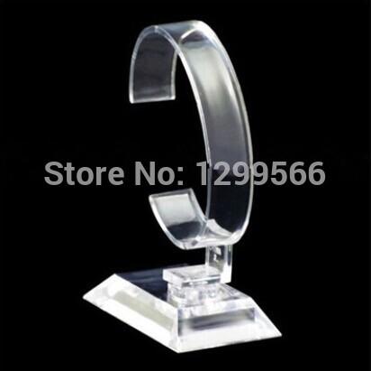 Clear Acrylic Watch Jewelry Display Rack Holder Show Stand SBJ02(China (Mainland))