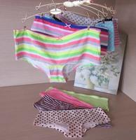 Free Shipping 5pcs/lot Women Plus Size Underwear Sexy Panties Cotton Briefs Healthy Care Lady Panties