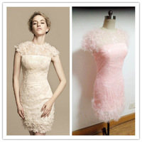 New arrival lace dress the bride married cheongsam formal dinner dress