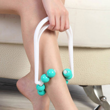 New Roller Body Legs Relax Massager Calf Slimming Shapely Relaxation Muscle Massager  Shank Thinning Massage DeviceMin Order $7