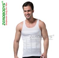 Absorbant Underwear men Body Shapers   Belly Cincher spandex clothing  mma  ZEROBODYS Slim Incredible Mens Bodysuit Vest Retail