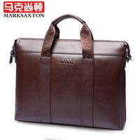 Special promotion!2014 New fine man bag commercial casual male briefcase handbag shoulder bag messenger bag laptop bag