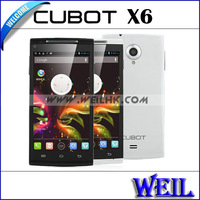 Original Cubot X6 MTK6592 Octa Core 1.7GHz Mobile Phone 5.0 Inch IPS HD OGS Screen 1GB RAM 16GB ROM 13MP Camera Dual Sim Card