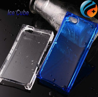 1pcs Free shipping !2014New Ice Block Transparent Crystal phone case ,TPU Ice Cube Case for iphone 5 5S 5G 4s iphone5