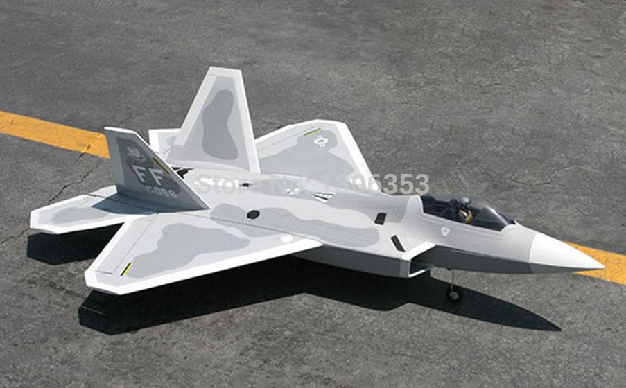 LanXiang F22 Raptor 70mm EDF Jet plane ARF RC model(China (Mainland))
