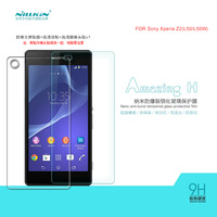 NILLKIN Amazing H Nanometer Anti-Explosion Tempered Glass Screen Protector Film For Sony Xperia Z2(L50), MOQ:1PCS