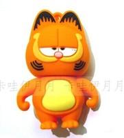 New hot U disk pendrives Garfield cat cartoon pendrive 8gb 16gb 32gb micro usb flash drive gift pen drive memory stick wholesale
