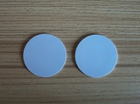100pcs/lot Dia 30MM PVC Smart Card Mf1S50 13.56Mhz ISO14443A Circular card, Coin Card NFC Card