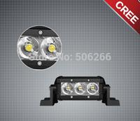 4 Inch 9W Single Row LED Light Bar 4 inc led light bar Cree 4*4 led offroad lamp