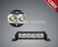 8 Inch 18W Single Row LED Light Bar 4 inc led light bar Cree 4*4 led offroad lamp