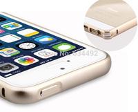 2014 New Ultra Thin Metal Hard Aluminum Cover Bumper Frame for Apple iPhone 4 4S 5 5S Phone Cases Capa Celular
