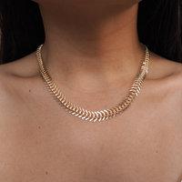 New arrive punk  fashion   fishbone necklace