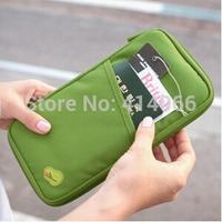 HOT 2104 NEW WELL Travel Passport ID Card Key Hand Zipper Case Bag Pouch Wallet Clutch Bag wholesale