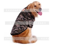 large dog camouflage t shirt golden retriever samo sports jersey big dog summer clothes S M L XL