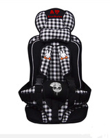 Child Car Safety Seat for Baby 9 Months to 6 Years of Age -White/Black