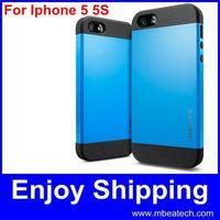 wholesale DHL free shipping 50 pcs/lot 4s 4 hard case high quality slim armor spigen sgp case for iphone 5 5s