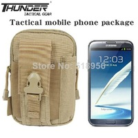 5.5inch screen mobile phone case for SAMSUNG galaxy note 2 3 intelligent mobile phone bag waist pack 1000D nylon free shipping