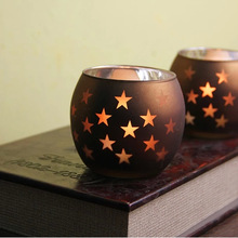 wholesale glass bowl candle