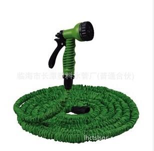 HOT Expandable Water Garden POCKET Hose 25FT with EU US thread version Sprayer Gun free shipping(China (Mainland))