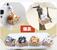 wholesale 1pcs new 2014 shinee kpop Carton cat of the 3.5mm  the cute cartoon anime anti dust plug ear cap phone