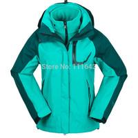 Women's Winter Outdoor Sports coat woman Snowboard ski Jackets / Lady Waterproof Sportswear Two Piece Skiing suits /Sales No.1