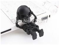 Free shipping Real capacity 4G 8G 16G 32G 64G 128GB skeleton USB flash drive skeleton pendrive Skullcandy Skull USB memory stick