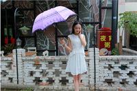 Factory Price!!Women's Anti-UV Folding LP Sun Block Umbrella Sun Rain Gear On Sale Lace Umbrellas 100pcs/lot