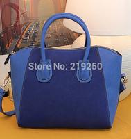 Portable minimalist fashion classic matte casual handbags shoulder bag Korean version of the smiley