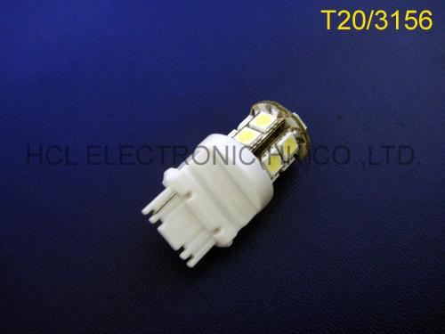 High quality 5050 12V 3156 car led rear lights, car 3156 led stop lights,3156 parking lights free shpping 50pcs/lot(China (Mainland))
