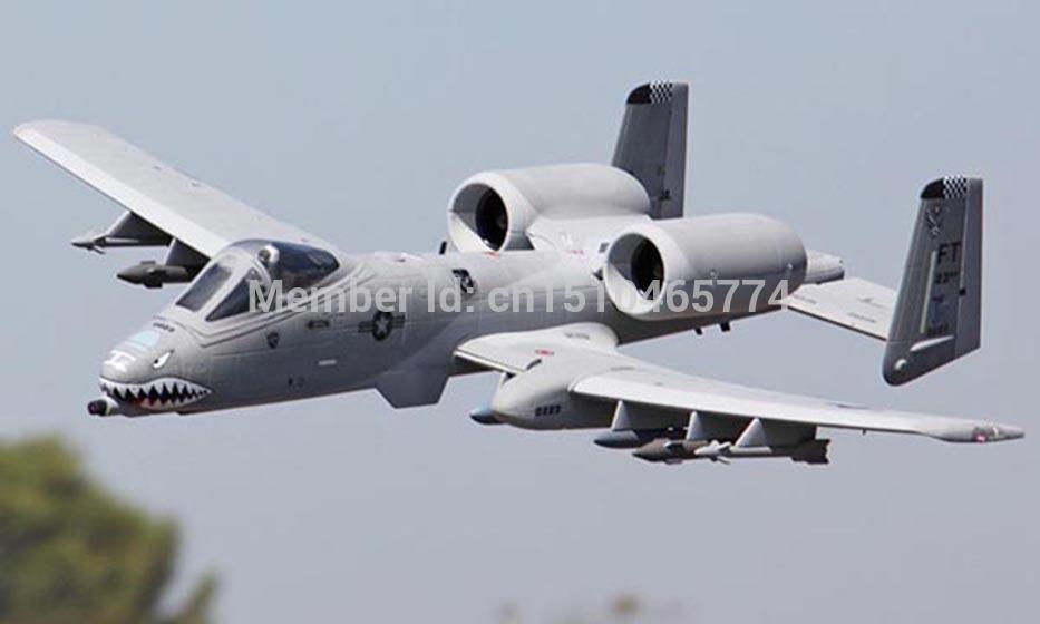 LanXiang A10 Warthog KIT Twin 70mm EDF Jet plane RC model(China (Mainland))