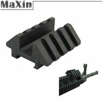 10pcs/lot Picatinny Tactical Heavy Duty Dual 45 Degree 25.4mm Rail Dovetail Weaver Scope Mount Hunting Accessories Wholesale
