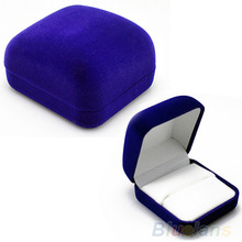 High Quality Fashion Blue Gift Box for Jewelry Watch Watch ring necklace earrings Jewelry Box
