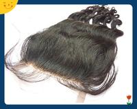 Malaysian Virgin Hair Loose Wave Closure Lace Closure 4x4 Middle 3 Way Part Bleached Knots Juliet Hair Top Closure