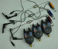 3 Set NEW Wireless Fishing Bite Alarm Tackle + 3 Fishing Swinger Bite Indicator