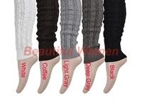 Big Promotion New Fashion Women's Boots Warmer Knit Crochet Winter Leg Warmer Wool Leggings Stocking 18920 3F