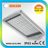 Free shipping 98W/100W led street light AC85-265V IP65 2 year warranty 98W/100w led street Lamp 98/100watt parking light lamp