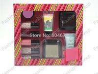 1PCS/lot New Brand makeup Cosmetics Sexy Little Stowaways big 10 Set kit makeup set Free shipping