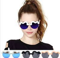 WY1413104 Wholesale  Brand New Personality Women Glasses CRAIG KARL Limited Edition Reflective Sunglasses Free Shipping