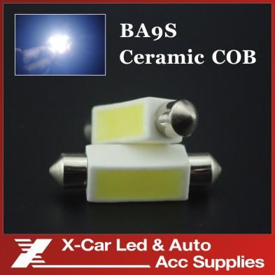 10pcs/lot 41mm C5W 5W High Power COB LED SMD Car Ceramic Festoon Dome Interior Reading Light lamp bulb lights DC12V(China (Mainland))