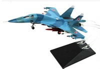 Popular Gift Model Of Home Decoration Famous Airplane Models 1:72 Toy Vehicles Diecasts Famous SU-34 Fighter Free Shipping