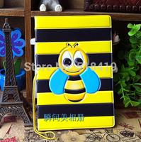 2014 Free shipping new 3D three-dimensional little bee pattern passport holder  passport cover