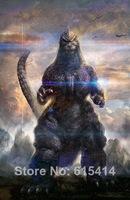 "005 Godzilla - 2014 Monster Fighting Hot Movie  24""x36"" Poster"