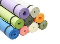 Anti-skidding Yoga Mat EVA 4mm Slip-resistant Thickening Broadened Yoga Mat 173*61 NINE colors