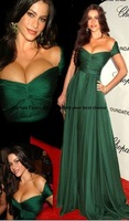 Free shipping new arrival explosion models tailored S-shaped chiffon sexy halter prom dresses