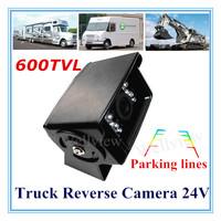 1/3 Sony HD CCD 600TVL Truck Reverse Camera 24v DC