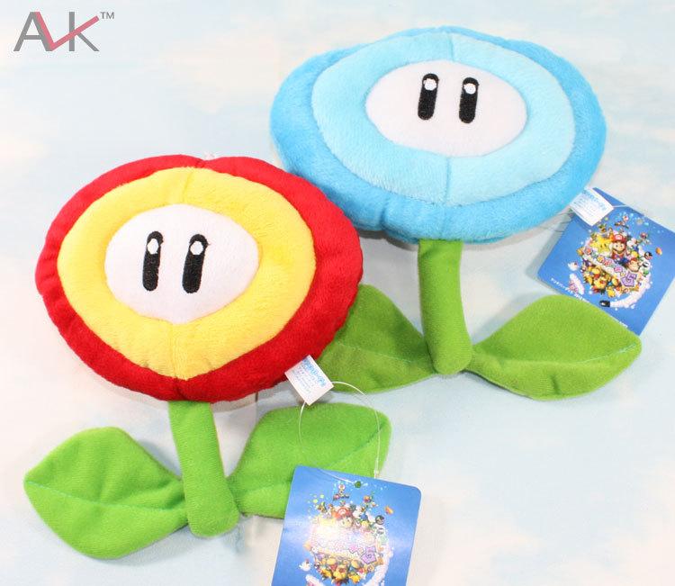 2 X Anime Super Mario Bros Sunflower BLUE AND RED(China (Mainland))