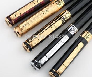 Канцтовары бренд пикассо 902 авторучка черный / золотой / серебро лучшие подарки для мужчины / женщины 0.5 мм металл Iraurita офиса пер + подарок коробка
