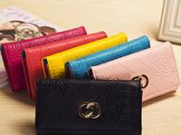 women wallets famous designer Brand Wallet Hasp high Capacity Purse women clutch phone bag card holder handbags freeshipping