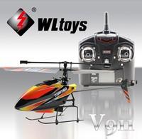 WLtoys V911 RC Helicopter 2.4G 4CH Mini Outdoor toys WL v911 V911-1 V911-2 Remote Control Helikopter RTF Free Shipping